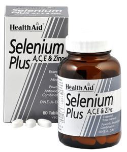 Health Aid Selenio Plus  60 comprimidos