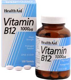 Health Aid Vitamina B12 1000mcg 100 comprimidos