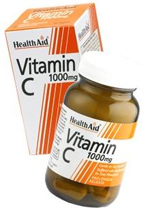 Health Aid vitamina C 1000mg 60 comprimidos