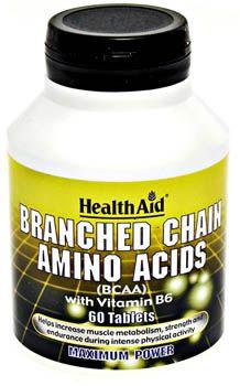 Health Aid BCAA 60 comprimidos