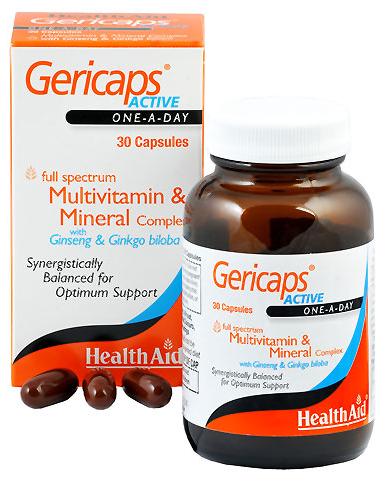 Health Aid Gericaps Active 30 capsulas