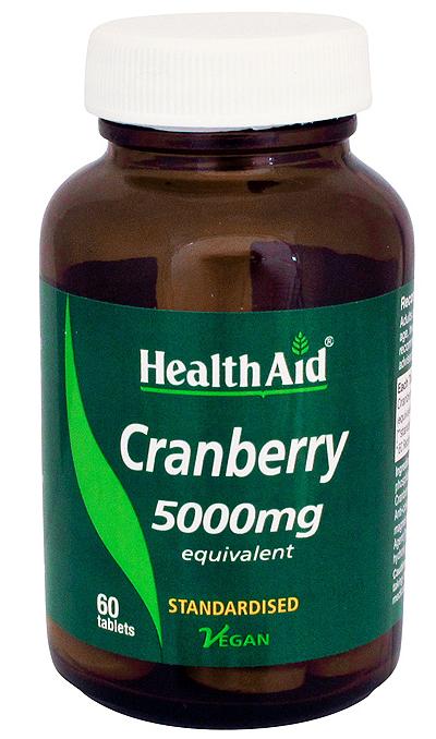 Heath Aid Arandano rojo 5000mg 60 comprimidos