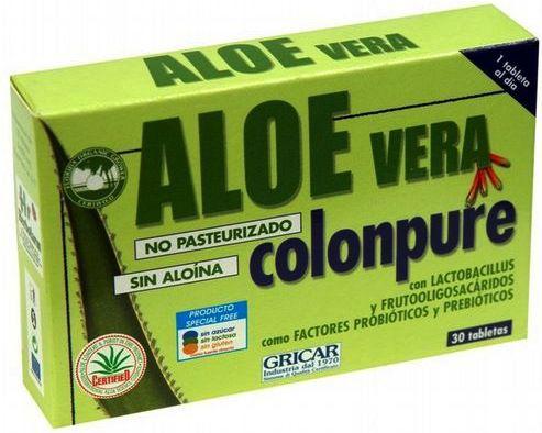 Herbofarm Aloe Vera Colonpure 30 comprimidos