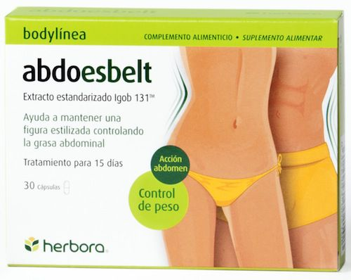 Herbora Abdoesbelt 30 cápsulas