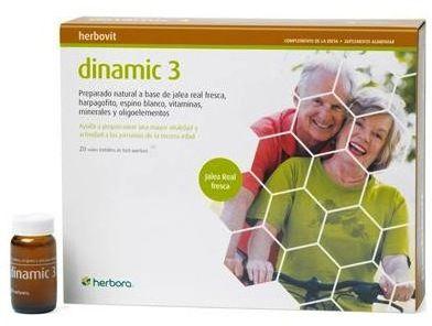 Herbora Dimanic 3 Edad 20 ampollas