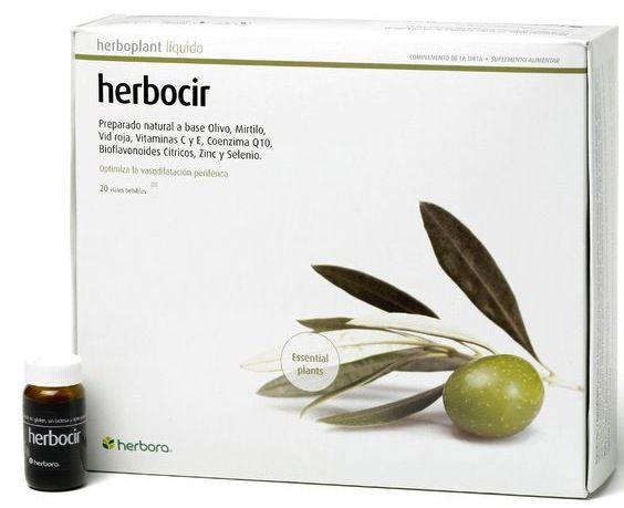 Herbora Herbocir 20 viales