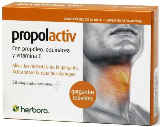 Herbora Propolactiv 30 comprimidos masticables