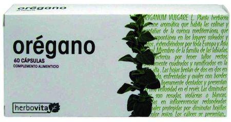Herbovita Orégano 60 capsulas