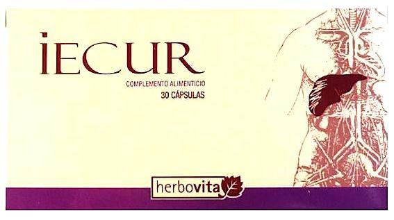 Herbovita Iecur 30 cápsulas