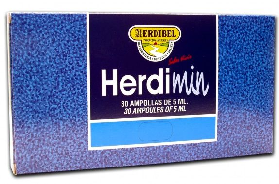 Herdibel Herdimin Pan 30 ampollas