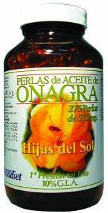 Hijas del Sol Onagra 500mg y Vit. E 10mg 275 perlas