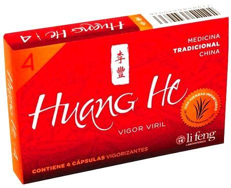 Li Feng Huang He Vigorizante Natural 4 cápsulas