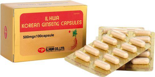 Ilhwa Ginseng Blister 100 cápsulas