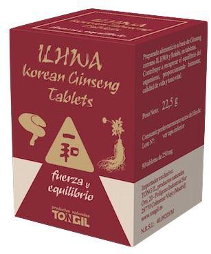 Ilhwa Ginseng y Reishi 90 comprimidos