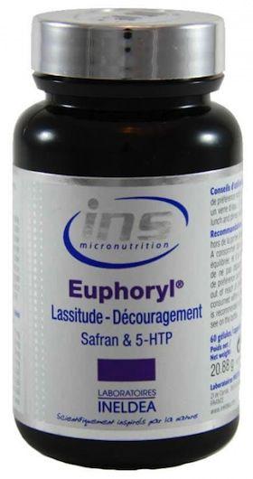 Ineldea Ins Euphoryl Safranal 5HTP 60 cápsulas
