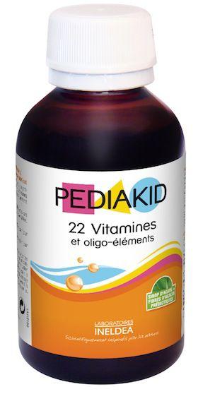 Ineldea Pediakid 22 Vitaminas y Oligoelementos jarabe 125ml