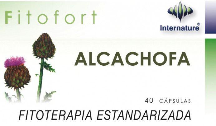 Internature Fitofort Alcachofa 40 cápsulas