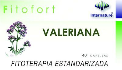 Internature Fitofort Valeriana 40 cápsulas
