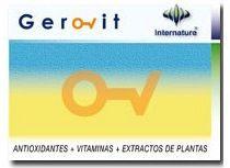 Internature Gerovit 30 cápsulas