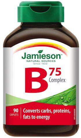 Jamieson B-Complex 75mg 90 comprimidos