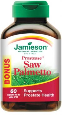 Jamieson Prostease Saw Palmetto 125mg 60 cápsulas