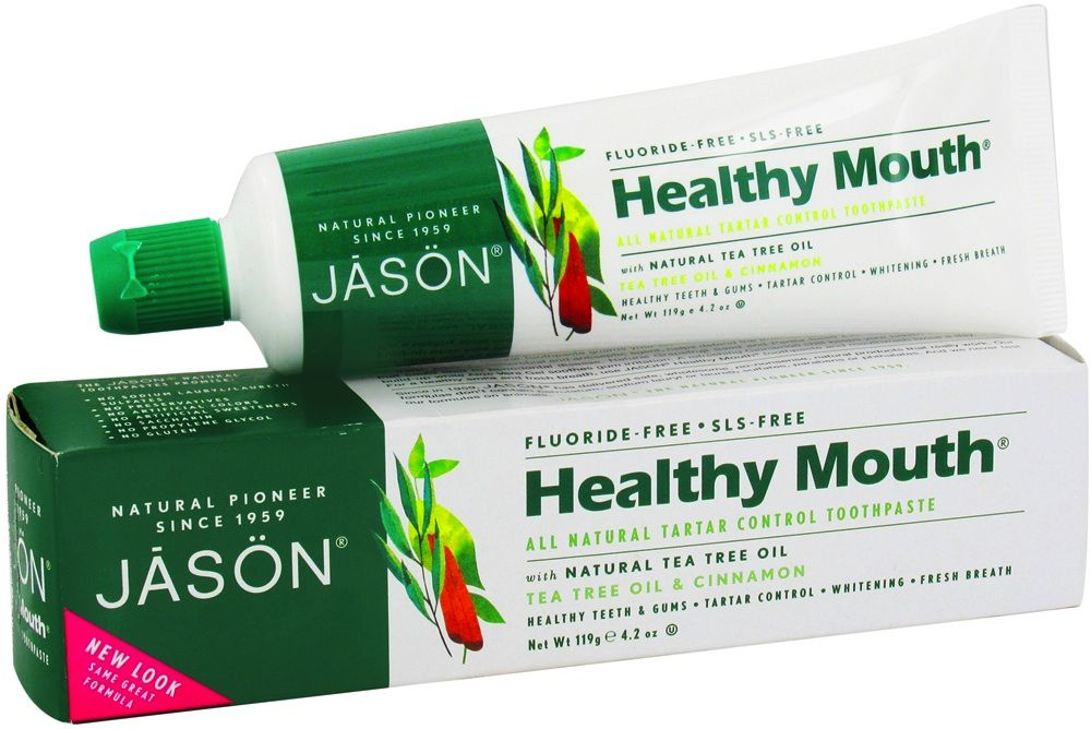 Jason Dentífrico Healthy Mouth 125g