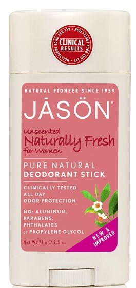 Jason Desodorante Naturally Fresh Stick Mujer