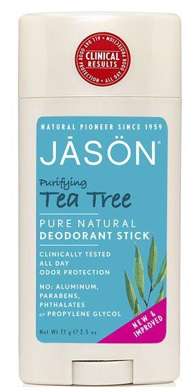 Jason Desodorante Tea Tree - Árbol del Té Stick