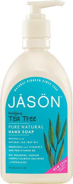 Jason Gel Manos y Cara Tea Tree - Árbol de Té 473ml