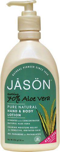 Jason Loción Corporal Aloe Vera 70% 500g