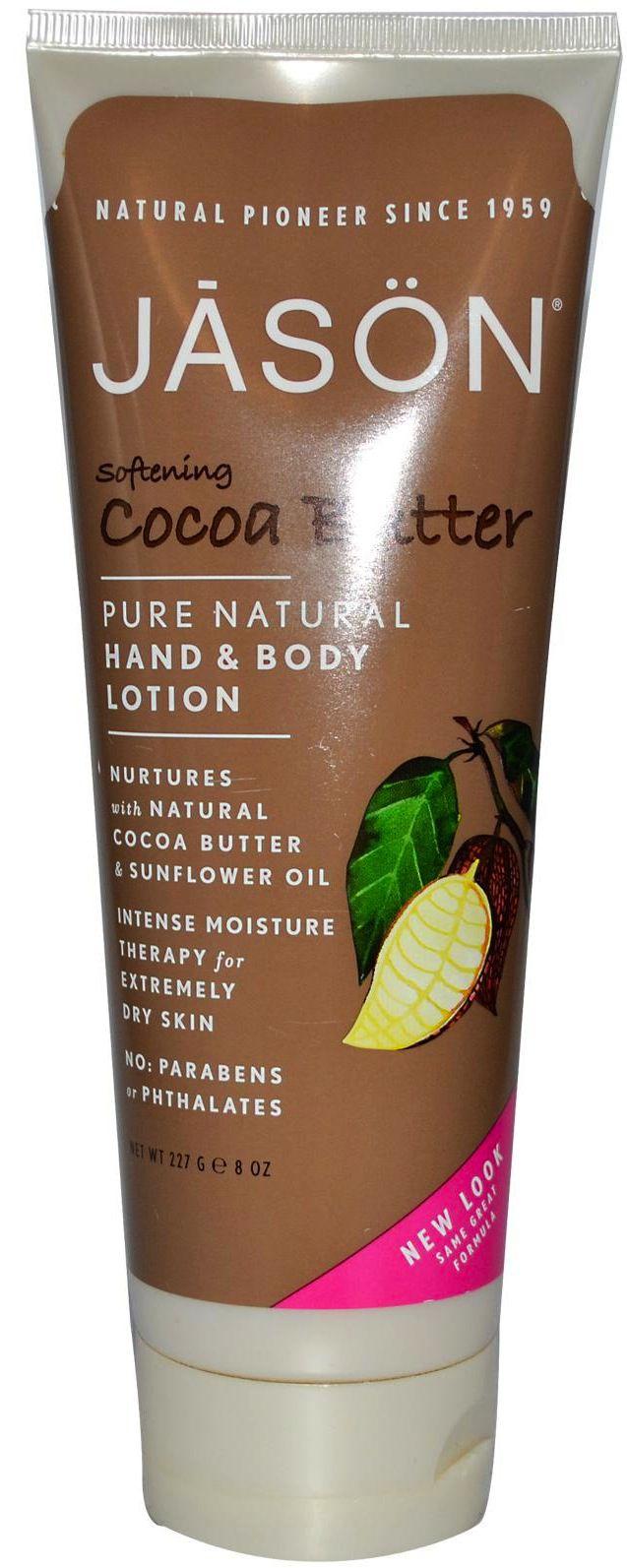 Jason Loción Corporal Manteca de Cacao 250ml