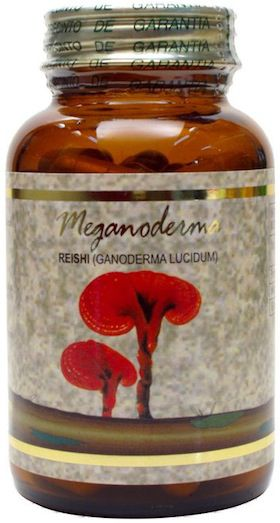 JellyBell Meganoderma Reishi 660mg 120 cápsulas