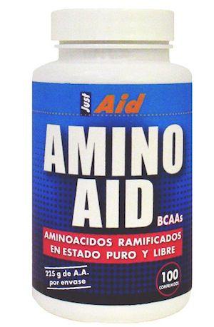 Just Aid Amino Aid BCAA 100 comprimidos