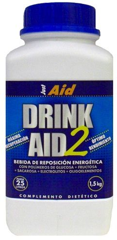 Just Aid Drink Aid 2 Naranja 1,5kg