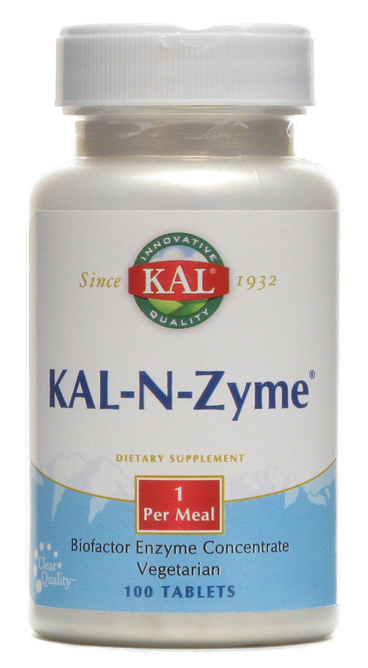 KAL N-Zyme 100 comprimidos