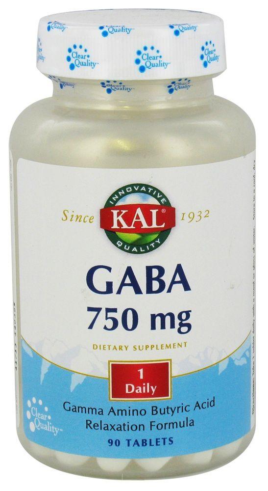 KAL GABA 750mg 90 comprimidos