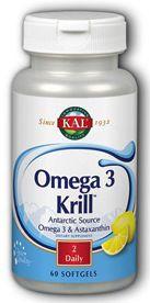 KAL Omega 3 Krill 60 cápsulas