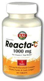 KAL Reacta C 1000mg 60 comprimidos