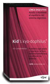 Kid's Kyo Dophilus 60 masticables sabor vainilla