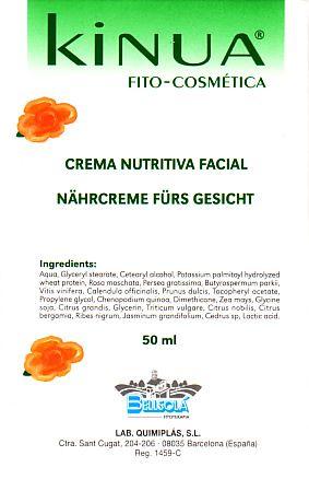 Kinua Crema Nutritiva Facial 50ml