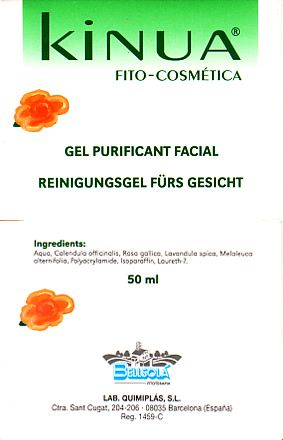 Kinua Gel Purificante Facial 50ml
