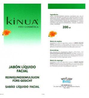 Kinua Jabón Líquido Facial 200ml