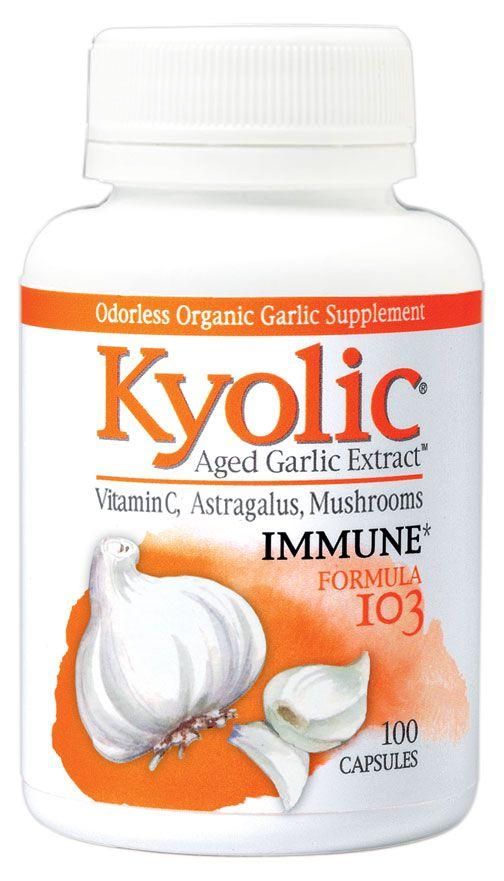 Kyolic 103 Immune formula 100 capulas