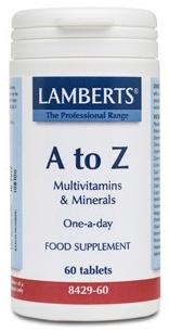 Lamberts A-Z Multi 60 comprimidos