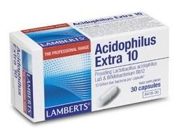 Lamberts Acidophilus Extra 10 30 capsulas