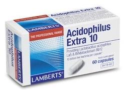 Lamberts Acidophilus Extra 10 60 cápsulas