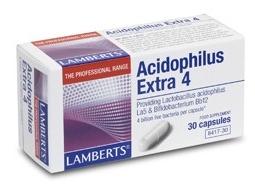 Lamberts Acidophilus Extra 4 30 cápsulas