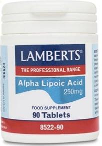Lamberts Ácido Alfa Lipoico 250mg 90 comprimidos