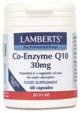 Lamberts Co-Enzima Q10 30mg 60 cápsulas