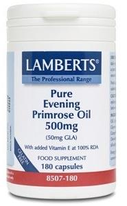 Lamberts Onagra-Evening Primrose Oil 500mg 180 cápsulas